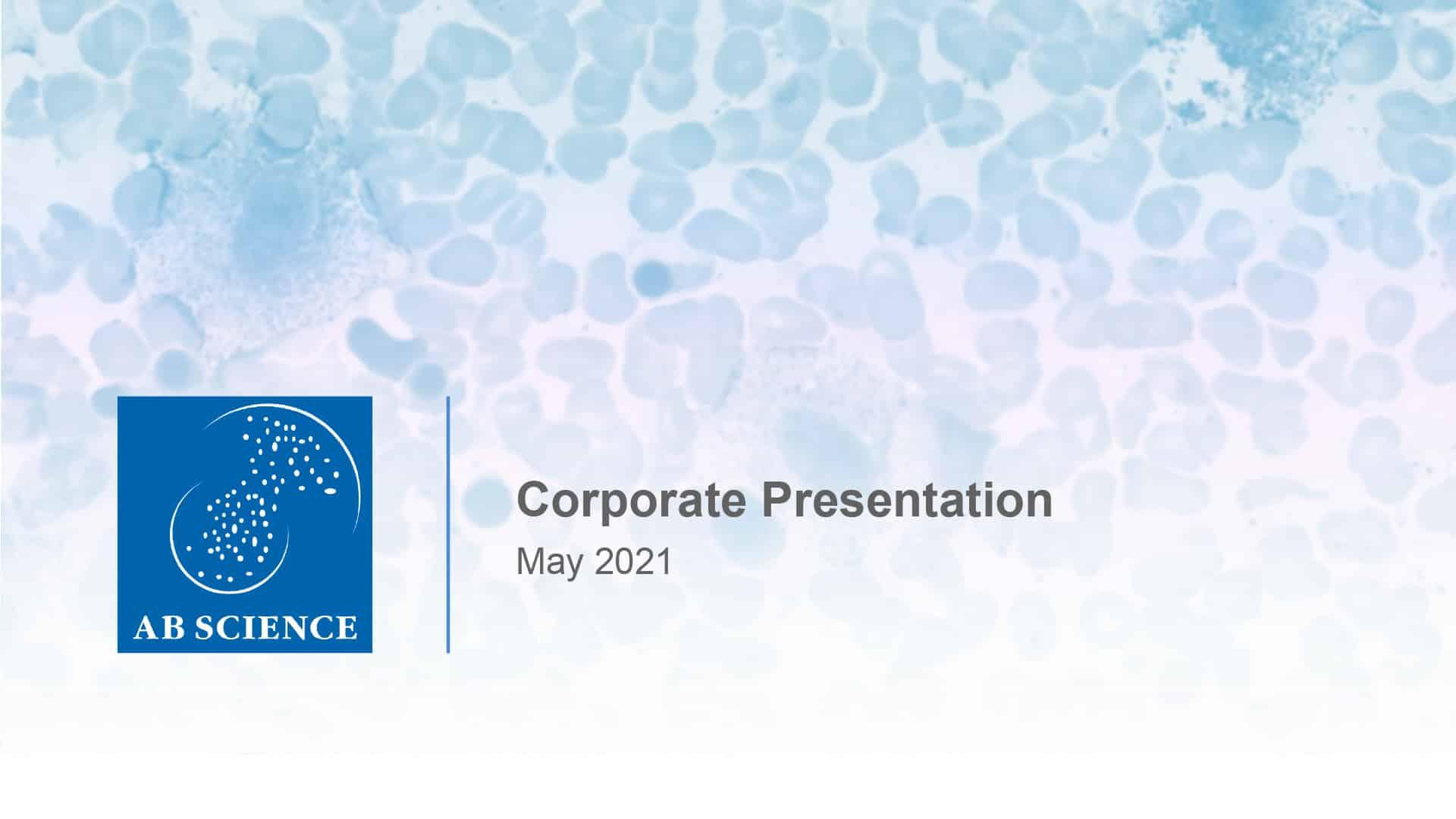 2021 07 07 AB Science Presentation